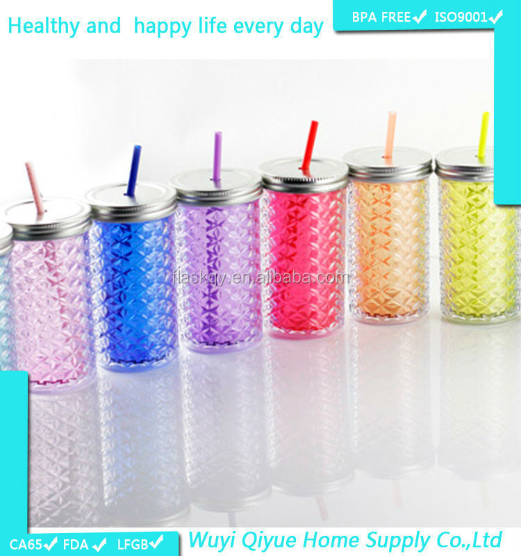 16OZ/450ml double wall novelty plastic cups cheap ceramic cups used party jumpers for sale, tumblers with lids and straws