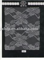 2011 Fashion black lace fabric