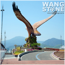 Large Outdoor Stainless Steel Eagle Statues