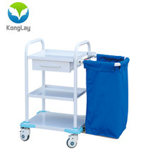 ABS medical hospital equipment treatment trolley multi-function emergency cart