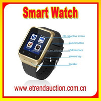 Fashion 3G WCDMA 5.0 MP Camera Wireless Bluetooth Android Smart Watch Mobile Phone
