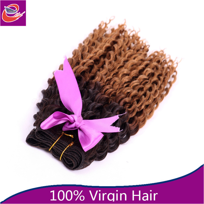 100% virgin Brazilian 20 inch deep curly hair weaving remy russian blonde hair extensions