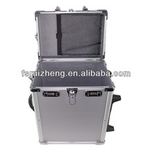 Top open Pro aluminum trolley case with combination lock RZ-LTR006-5