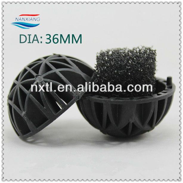 Plastic filter ball for fish pond , aquarium accessories Bio Ball