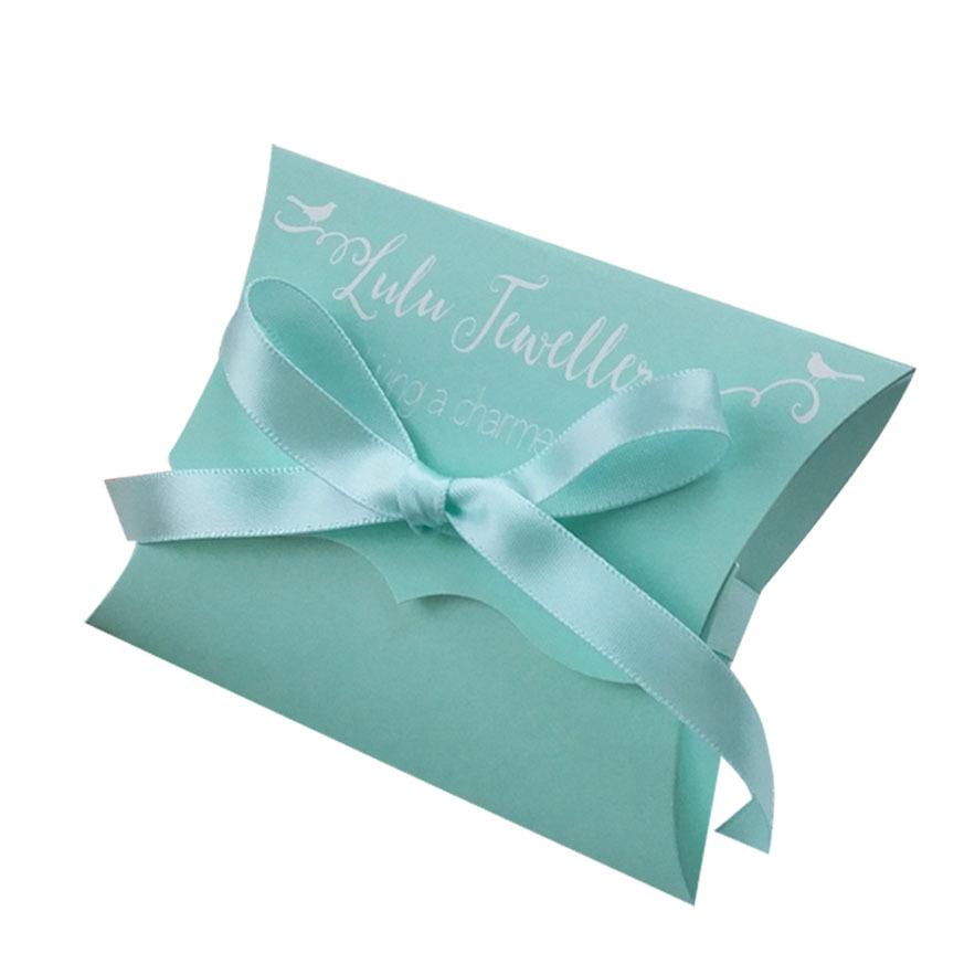 Custom Printed Packaging Paper Pillow Box Buy Pillow Box