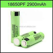 18650 lithium ion 18650 li-ion battery ncr18650 PF rechargeable with flat top