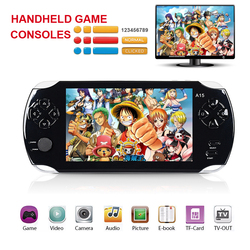 5 inch HD screen Portable Multimedia Player 8 GB Handheld game consoles MP3 mp4 player game pad Digital Video Camera e-books