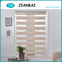 JK fibre waterproof outdoor blinds,cheap price zebra blinds,office curtains and blinds