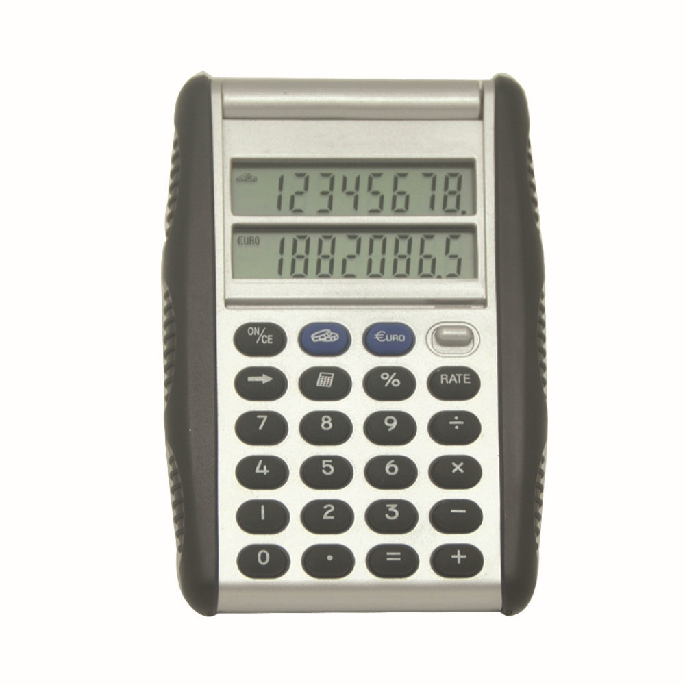 Dual Screen,Flip Pocket, Double Side Display Calculator