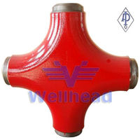 API 6A Cross Joint Pipe Fitting,High Pressure Fittings,Alloy Steel Pipe