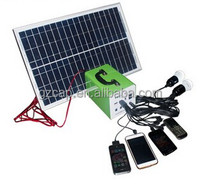 factory direct ! solar portable lighting system 10watt to 50watts, solar home lighting system