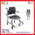 2017With FDA CE ISO Hospital Used Emergency Folding With Wheels With Handle Spine Board Stair Stretcher Convertible Chair