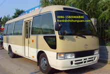 japanese second hand TOYOTA used coaster bus for sale