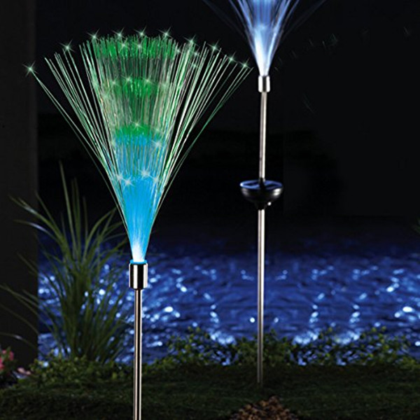 Color Changing Optical fiber Outdoor Garden Solar Light