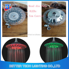 20Cm water LED shower top head