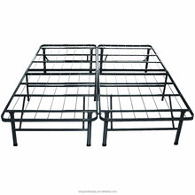 Easy to assemble mattress foundation/platform bed frame/box spring replacement
