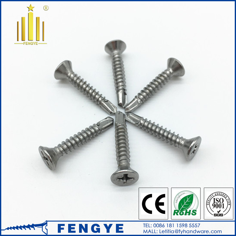 Stainless Steel Wafer Head Tapping Screws