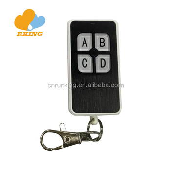 Fixed Code Remote Control Duplicator Face To Face 433mhz For Garage Door