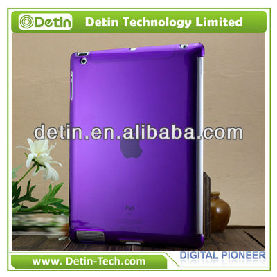 Shenzhen factory Crystal clear hard case for apple ipad wholesale