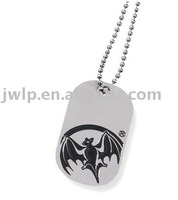 Custom logo metal pet tag