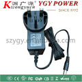 UK EU power adaptor 18W 24W with CB CE RoHS certifications