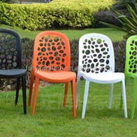 Strong PP Plastic Dining Chair Wedding