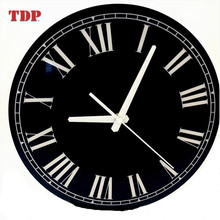 High Quality Luxury Decorative Acrylic Black LED Wall Clock For Home Or Hotel