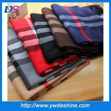 fashion winter classic plaid scarf wholesale WJ-683