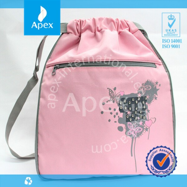 nice pink oxford students book bag