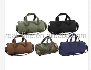 Canvas Sports Gym Duffle Carry Shoulder Bag TRAVEL BAG