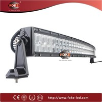 car roof top 52inch led light bar 300w curved off road led light bar