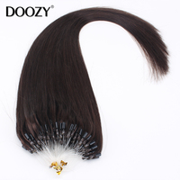 Indian remy human hair Nano bead wire micro loop hair extension