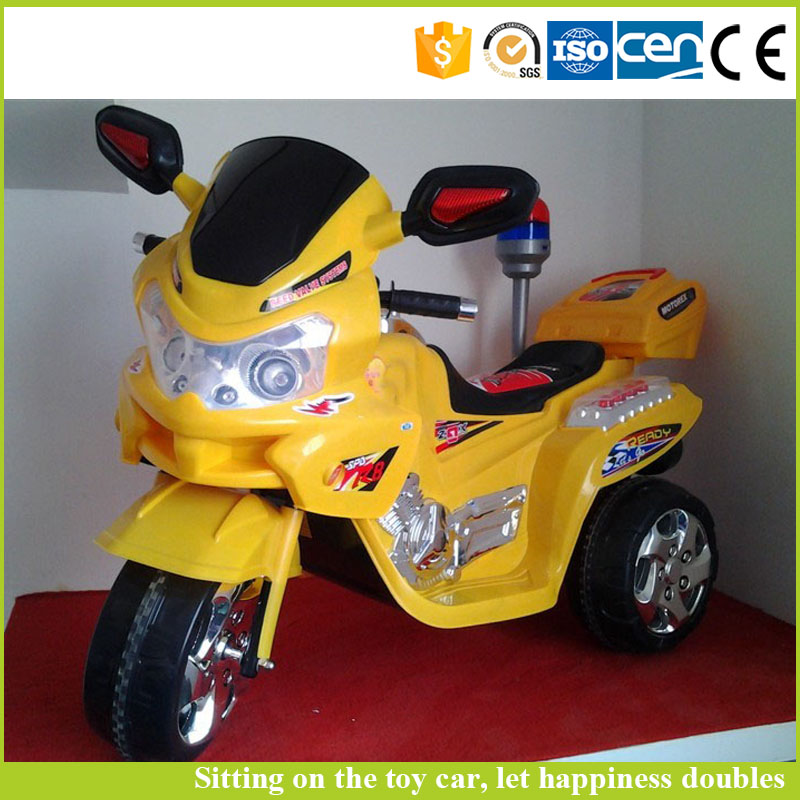 New design battery operated toy car one seat battery charger motorcycle for kids