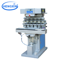 6 Color ink cup pad printing machine for baby feeding bottles