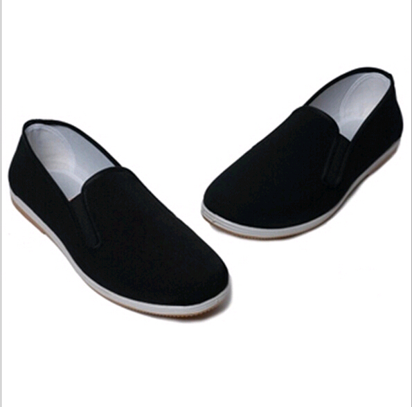 Chinese traditional men's shoes comfortable working shoes classic cloth shoe for men