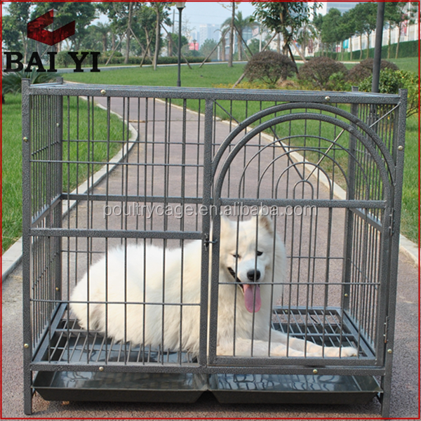 Galvanized Stainless Steel Tube Dog Kennl For Dogs
