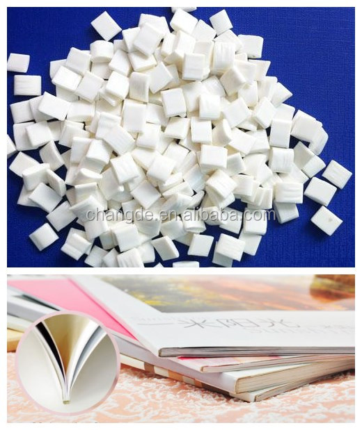 milky hot melt book binding spine glue