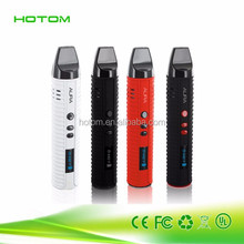 2016 dry herb vaporizer pen portable vaporizer pipe oil glass smoking
