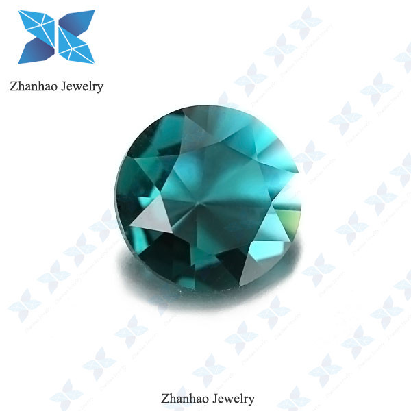 zhanhao decorative glass stones round shape glass gemstone supplier