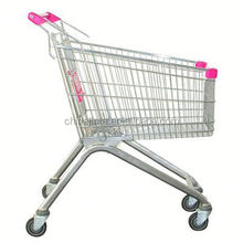 supermarket equipment shopping trolley used shopping carts sale/cheap folding shopping cart bag
