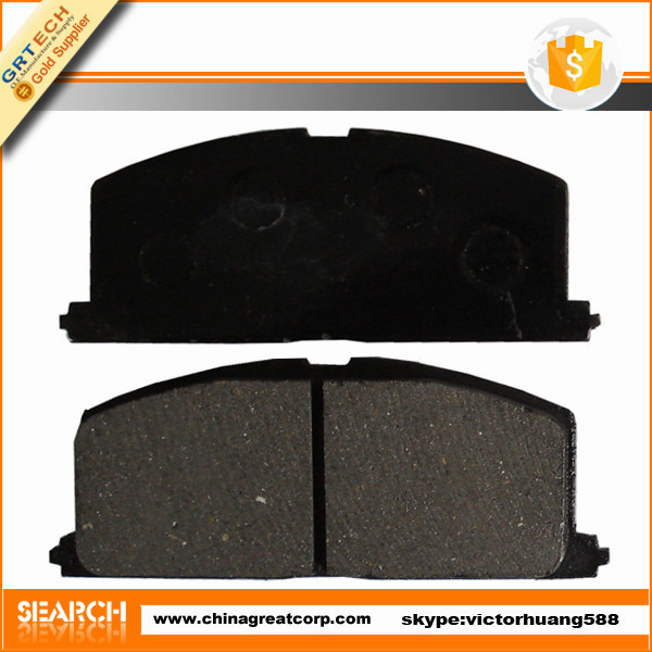D2023 chinese car brake pad cross reference for TOYOTA