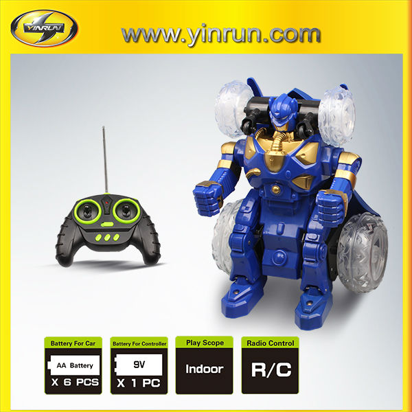 rc trans-robot car children electric car