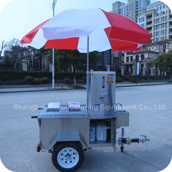 2014 Special Offers Orange Juice Hot Milk Cocoa Drink Breakfast Cart XR-CC120 A