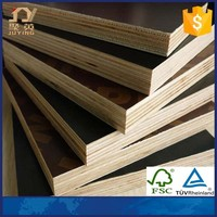 18mm Phenolic Film Coated Marine Plywood Boards For Construction