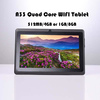 china Allwinner A33 quad core android tablet 7 inch wifi bluetooth cameras 512MB/4GB OR 1GB/8GB