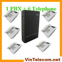 China PBX System With 3 CO