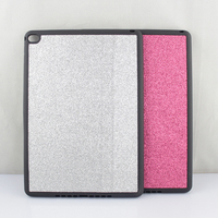 Alibaba china new product bling silicone soft cover for ipad 6, glitter tablet case cover for ipad6