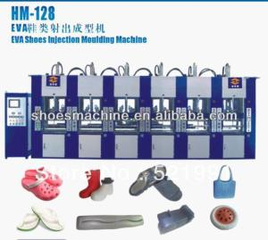 Automatic 6 station EVA shoes soles injection moulding machine