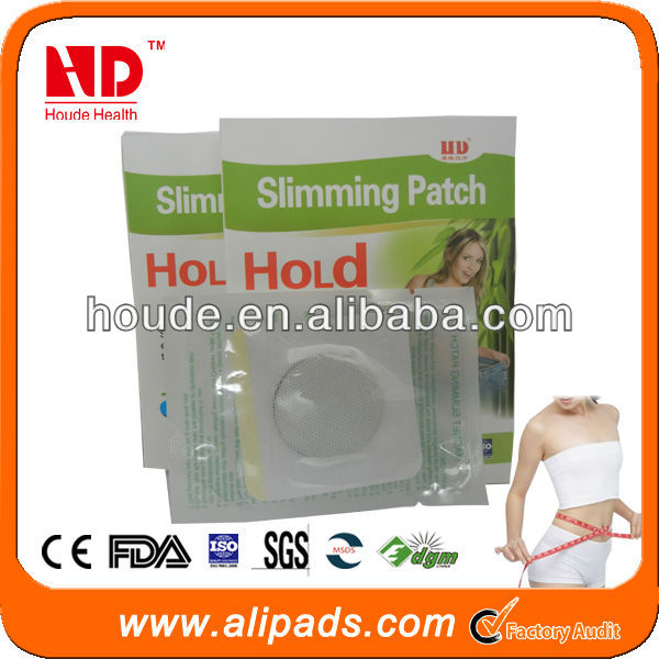 Wholesale weight loss product! Factory original natural herb navel slimming patch, slimming pads