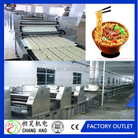New condition fried instant noodle machine/industrial noodle making machine/instant noodle producing
